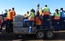 City of Cape Town cleaning services working in Gugulethu on 11 June 2013. Picture: Tammy Abrahams/EWN