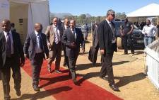 President Jacob Zuma arrives for Human Right's Day celebration at Mbekweni on 21 March 2013. Picture: Giovanna Gerbi/EWN