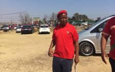 Economic Freedom Fighters (EFF) leader Julius Malema. Picture: Christa Eybers/EWN.