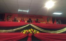 FILE: Cosatu leaders addressing the media following the central committee meeting. Picture: Clement Manyathela/EWN
