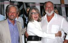 Michael Douglas, Diane Keaton, and Rob Reiner attend the 'And So It Goes' premiere at Guild Hall on 6 July 2014. Picture: AFP.