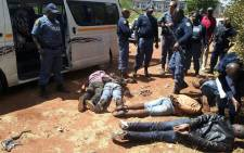 FILE: Police arrested five suspects in the Centurion Mall robbery on 17 October 2014. Picture: Eblockwatch Facebook page.