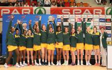 The SPAR Proteas is the 2016 SPAR Challenge Champions. Picture: Twitter @Netball_SA.