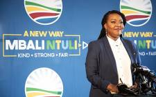 FILE: Mbali Ntuli of the Democratic Alliance. Picture: Xanderleigh Dookey/EWN