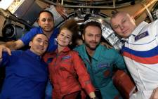 A Russian actress and a film director returned to Earth Sunday after spending 12 days on the International Space Station (ISS) shooting scenes for the first movie in orbit. Picture: @Anton_Astrey/Twitter.