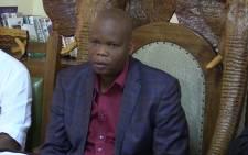 FILE: The Vhavenda king Toni Mphephu Ramabulana. Picture: EWN