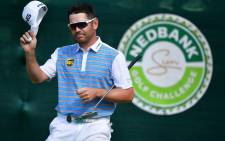 South African golfer Louis Oosthuizen at the Nedbank Challenge on 10 November 2018 at Sun City. Picture: @golfatsun/Twitter