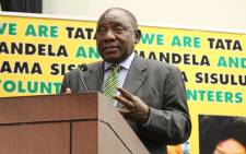ANC President Cyril Ramaphosa. Picture: @MYANC/Twitter.