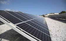 Solar panels. Picture: Cindy Archilles/Eyewitness News