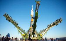 The Soyuz Capsule before lifting off from the Baikonur Cosmodrome in Kazakhstan on 23 November 2014. Picture: Nasa Facebook page.