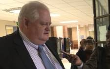 Angelo Agrizzi appears in the Equality Court on 29 May 2019. Picture: Thando Kubheka/EWN.