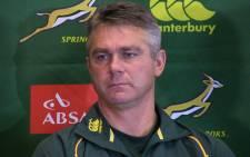 Springbok Coach, Heyneke Meyer. Picture: Christa van der Walt/EWN.