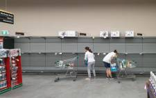 FILE: Empty toilet paper shelves as shoppers start stockpiling amid the coronavirus pandemic. Picture: www.123rf.com