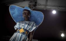 One of the creations at the South Africa Fashion Week 2018. Picture: Thomas Holder/EWN