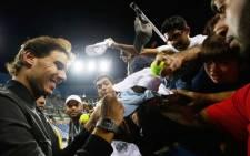 Spain's Rafael Nadal. Picture: AFP.