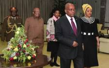 President Jacob Zuma in Addis Ababa for the 30th African Union Summit. Picture: GCIS.