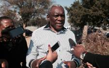Minister of Telecommunications and Postal Services Siyabonga Cwele. Picture: EWN.