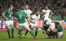 FILE: Willie le Roux looks on as Elton Jantjies is taken down in the series decider against Ireland in Port Elizabeth on 25 June 2016. Picture: Aletta Harrison/EWN.