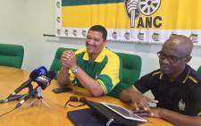 FILE: Suspended African National Congress Western Cape leader Marius Fransman (L). Picture: Xolani Koyana/EWN.