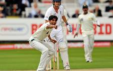 Mohammad Asif during the Npower test against England at Lords Cricket Ground in London, in 2010. Picture: AFP