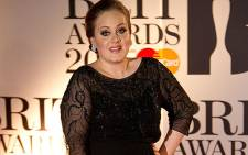 British musician Adele. Picture: AFP