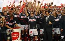 The Sharks will begin the defence of their 2013 Currie Cup title in early August. Picture: Facebook.com.