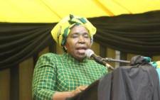 FILE: ANC presidential hopeful Nkosazana Dlamini Zuma. Picture: Twitter/@DlaminiZuma