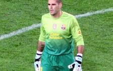 Barcelona goalkeeper Víctor Valdés. @castroquini/Twitter.