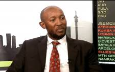 FILE: A YouTube screengrab of fired Denel CFO Odwa Mhlwana.