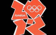 The logo for the London 2012 Olympics. Picture: AFP