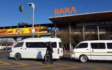 FILE: Bara Taxi Rank in Johannesburg. Picture: Louise McAuliffe/EWN