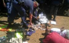 Police arrested 5 gang members behind a spate of 'fake cop robberies and hijackings' in Midrand on 8 February 2013. Picture: SAPS