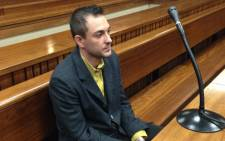 Christiaan Oldewage inside North Gauteng High Court in Pretoria on 5 December 2013. Picture: Mia Lindeque/EWN.