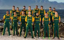 FILE: The Proteas World Cup squad. Picture: CSA