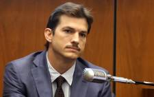 FILE: Ashton Kutcher testifies during the trial of alleged serial killer Michael Gargiulo, known as the Hollywood Ripper, at the Clara Shortridge Foltz Criminal Justice Center on 29 May 2019 in Los Angeles, California. Picture: AFP