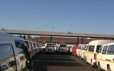 File Picture: Taxis parked off.