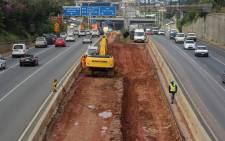 The Johannesburg Roads Agency is undertaking essential maintenance on the M1 freeway between Killarney and Crown Interchange. Picture: Christa Eybers/EWN.
