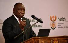 President Cyril Ramaphosa. @PresidencyZA/Twitter