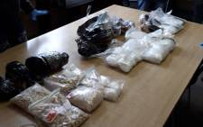 Some of the drugs confiscated by police in King William's Town. @SAPoliceService/Twitter