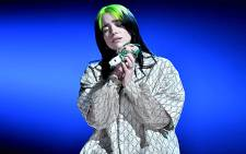 Goth-inspired pop innovator Billie Eilish performs at the Grammy Awards on 27 January 2020. Picture: @RecordingAcad/Twitter.