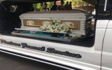 Former leader of the Hard Livings gang in the Western Cape Rashied Staggie was laid to rest on Saturday, 21 December 2019 after he was gunned down while sitting in his car outside his Salt River home. Picture: Lauren Isaacs/EWN