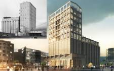 The Zeitz MOCAA is constructed out of an old grain silo complex at the V&A Waterfront. Picture: The V&A Waterfront