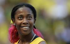 The worlds fastest woman, Jamaican athlete Shelly-Ann Fraser-Pryce. Picture: AFP