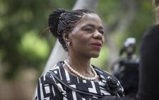 Public Protector Advocate Thuli Madonsela attended proceedings over the extent of her office's powers in the Nkandla matter at the Constitutional Court in Johannesburg on 09 February 2016. Picture: Reinart Toerien/EWN.