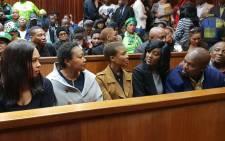 Karabo Mokoena's family and friends in court on Thursday 3 May 2018. Picture: Kgomotso Modise/EWN.