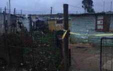FILE: The house where 14-year-old Elna Japhta's body was found under a bed in Bredasdorp. Picture: Masa Kekana/EWN.