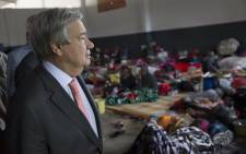 FILE: Secretary-General António Guterres visits Ain Zara Detention Centre in Tripoli, Libya, where migrants and refugees face indefinite detention. Picture: United Nations Photo.