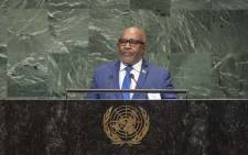 Azali Assoumani, the president of the Union of Comoros. Picture: United Nations Photo