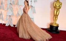 Jennifer Lopez arrives on the red carpet for the 87th Oscars on February 22, 2015 in Hollywood, California.  Picture: AFP