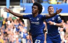 Chelsea winger, Willian Borges da Silva. Picture: @ChelseaFC/Twitter